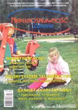 Niepełnosprawność i zdrowie 2003/03