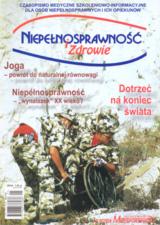 Niepełnosprawność i zdrowie 2004/01